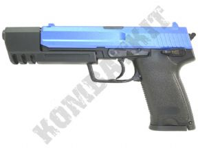 GGH0304 Gas BB Gun | H&K MK23 Pistol Replica | Two tone 6mm Airsoft Guns | KOMBATKIT